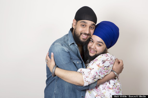 Harnaam's brother was her biggest support.