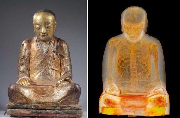 Buddha Statue Mummy