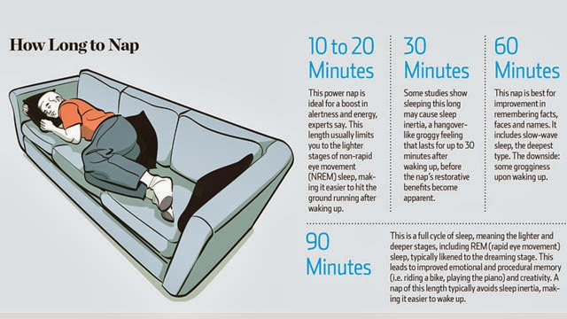Doctors Reveal How Long To Nap For Maximum Productivity