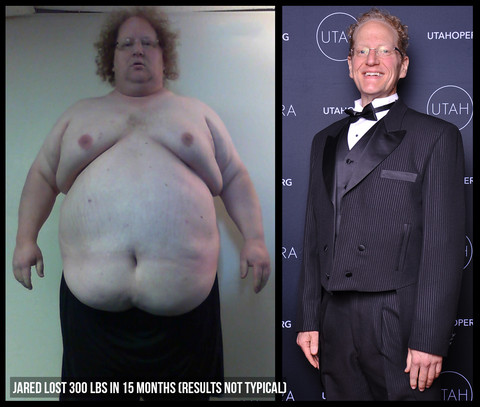 """"""" After over 40 years of being overweight, Jared had managed to lose 300 pounds in just a little over one year, by eating real food, and doing DDP YOGA. """""""