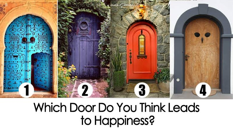 Opening the BLUE door means the following  sc 1 st  SOULSpot & Pick The Door You Think Leads To Happiness And Find Out What It ...