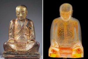 CT Scan Reveals That Statue of the Buddha Is Actually a Mummy